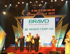 Lần thứ 2 liên tiếp BRAVO 7 ERP-VN lọt Top 10 Sao Khuê