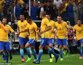 Brazil chính thức giành vé dự World Cup 2018