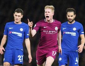 Chelsea 0-1 Man City: Sự khác biệt đến từ De Bruyne