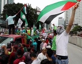 """Người Hồi giáo châu Á """"dậy sóng"""" sau quyết định về Jerusalem của ông Trump"""