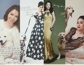 """14 BTV, MC nổi tiếng lên ảnh lịch bên những chú chó """"quý tộc"""" đắt nhất thế giới"""