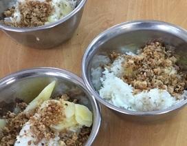 Kết luận vụ bữa ăn đạm bạc: Hình ảnh chỉ phản ánh một nửa sự thật