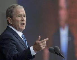 Ông Bush chỉ trích chính sách của Tổng thống Trump