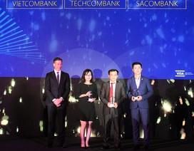 Techcombank dẫn đầu thị trường về doanh số sử dụng Visa Credit