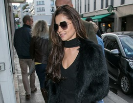 Cheryl khoe dáng thanh mảnh tại tuần lễ thời trang Paris