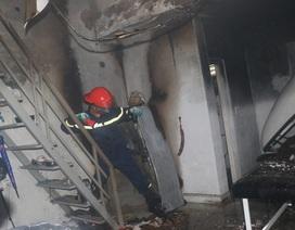 Trung tâm chăm sóc sắc đẹp bốc cháy sau tiếng nổ