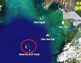 Ca nô chở 14 người bị sóng đánh lật úp trên biển Kiên Giang
