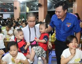 Trung thu tươi vui với trẻ em nghèo ở Cần Thơ