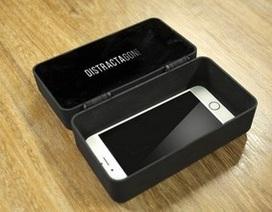 Độc đáo chiếc hộp thông minh giúp... cai nghiện smartphone