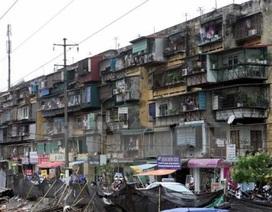"""Cải tạo chung cư cũ: Dân không chịu đi vì nghi doanh nghiệp """"trục lợi"""""""