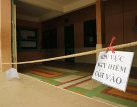 Sau sự cố sập sàn, đóng cửa nhiều phòng học vì xuống cấp