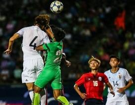 Campuchia gây ấn tượng khi chỉ thua nhẹ Nhật Bản tại vòng loại U23 châu Á