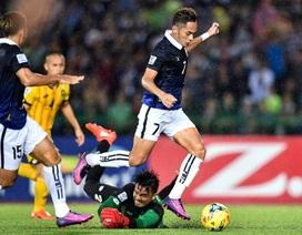 Đội tuyển Campuchia đã tiến bộ chóng mặt như thế nào?