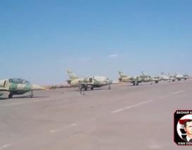 """Lộ video hiếm bên trong căn cứ không quân Syria ở """"chảo lửa"""" Aleppo"""