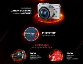 """Canon trình diễn sản phẩm """"khủng"""" tại Canon EXPO lớn nhất Việt Nam"""