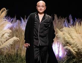 """Cao Minh Tiến gây ấn tượng với """"Lưỡng tính"""" trong tuần lễ thời trang"""