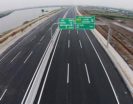 Cao tốc Hà Nội – Hải Phòng: Thu phí 5,5 tỷ đồng, trả lãi 8 tỷ đồng/ngày