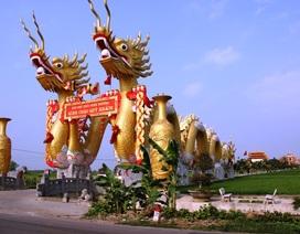 """Điện thờ """"khủng"""" ở Thái Bình: Xác nhận nhiều sai phạm"""