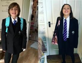 Vợ chồng người Anh đồng hành cùng con trai muốn trở thành gái