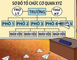 """Bộ Nội vụ công bố hàng loạt tỉnh thành """"lạm phát"""" Phó Giám đốc Sở"""