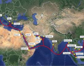 Cáp quang biển AAE-1 trị giá 820 triệu USD được triển khai tại Việt Nam trong tháng 7