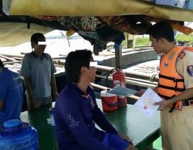 Bắt tại trận 5 ghe cát tặc trên sông Đồng Nai