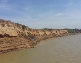 Bất lực nhìn cát tặc hoành hành trên sông Chu