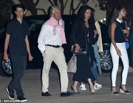 Hình ảnh hiếm hoi về 2 con của Catherine Zeta-Jones