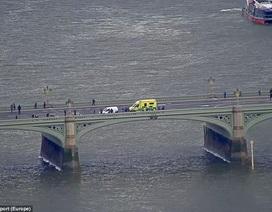 """Một phụ nữ nhảy xuống sông Thames để tránh xe """"điên"""" khủng bố London"""