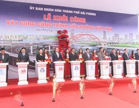 Khởi công xây dựng cây cầu vòm thép lớn nhất nước