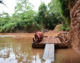 """Bình Phước - Đồng Nai """"cãi nhau"""" vì một cây cầu"""