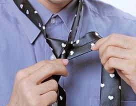 """""""Bỏ túi"""" 10 cách thắt cà vạt đẹp nhất cho các quý ông"""