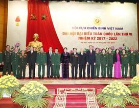 Đại hội đại biểu toàn quốc lần thứ VI Hội Cựu chiến binh Việt Nam khai mạc phiên chính thức