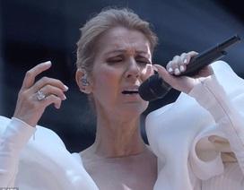 Celine Dion đeo nữ trang 3 triệu đô la lên sân khấu