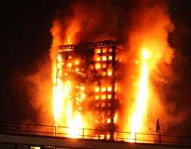 Cháy chung cư 24 tầng ở London: Ít nhất 12 người chết