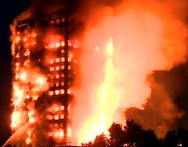 """Tìm ra """"thủ phạm"""" thiêu rụi chung cư 24 tầng ở London"""