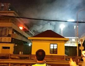 Niêm phong phòng điều tra vụ cháy tại khoa Khám bệnh Bệnh viện Bạch Mai