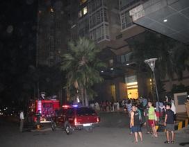 Cháy tại tòa nhà 37 tầng, hàng trăm người hốt hoảng tháo chạy