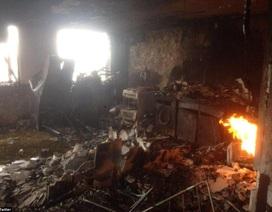 Những hình ảnh đầu tiên bên trong chung cư 24 tầng bị cháy ở London