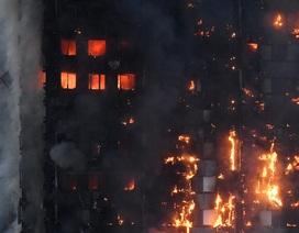 Tháp 24 tầng bốc cháy dữ dội ở Anh, nhiều người thương vong