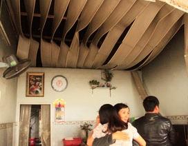 Cháy nhà vắng chủ, dân dùng vòi nước sinh hoạt chữa cháy