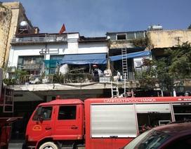 Hà Nội: Cháy tại phố Đinh Lễ