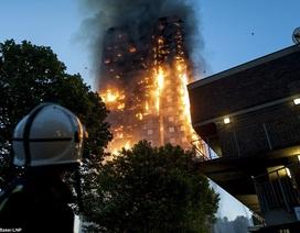 Nạn nhân vụ cháy tháp 24 tầng ở London thoát thân nhờ ga trải giường