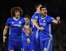 Costa lập cú  đúp, Chelsea thắng đậm trước Southampton