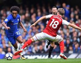 Chelsea 0-0 Arsenal: Chia điểm nhạt nhòa