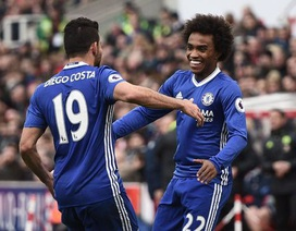 Stoke 1-2 Chelsea: Chiến thắng may mắn