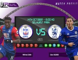 Crystal Palace - Chelsea: Khát lắm ba điểm