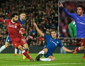 Chelsea chia điểm với Liverpool tại Anfield