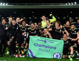Màn ăn mừng rực rỡ đón chức vô địch Premier League của Chelsea