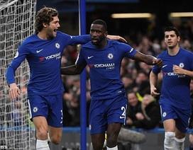 Chelsea 5-0 Stoke: Đội khách sớm đầu hàng